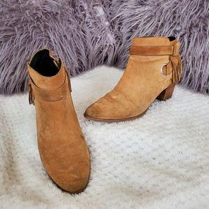 Rebecca Minkoff • Fringe Ankle Boots